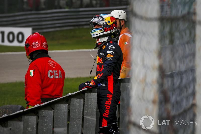 Verliezer: Daniel Ricciardo