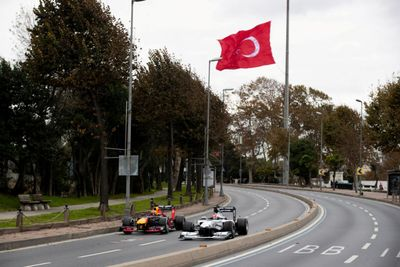 Red Bull'un İstanbul çekimi