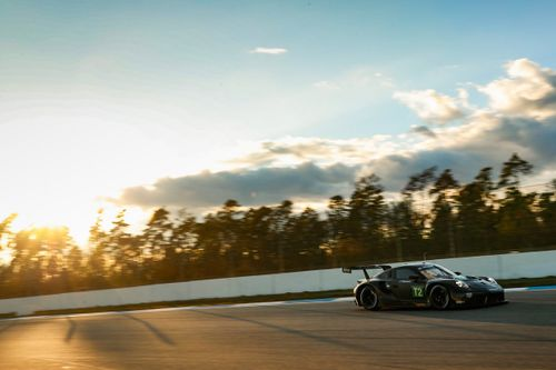 Porsche GT Team testing