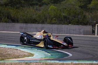 DS Techeetah Formula E Gen 2 car
