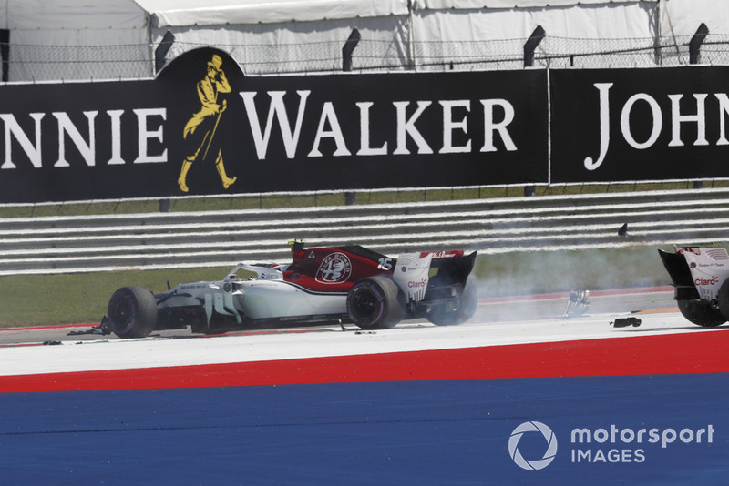 Estados Unidos - Romain Grosjean/Charles Leclerc (carrera)