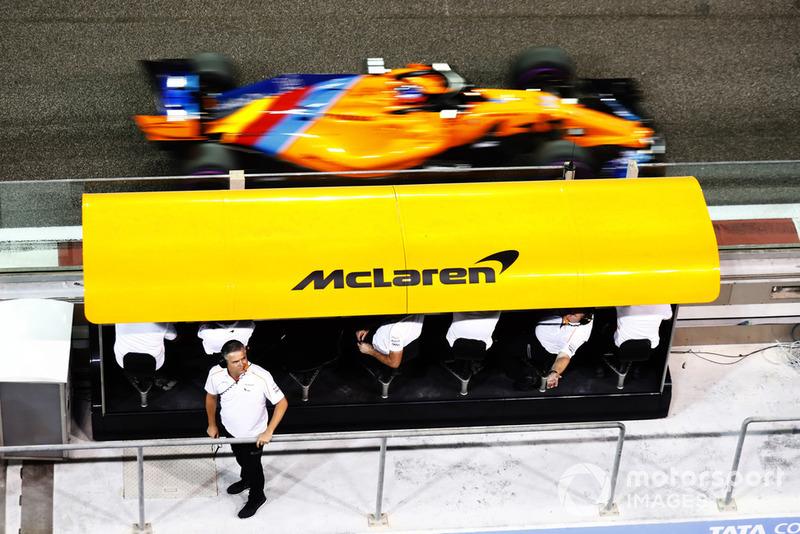 Спортивний директор McLaren Жиль де Ферран, Фернандо Алонсо, McLaren MCL33