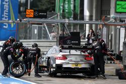 Maro Engel, Mercedes-AMG Team HWA, Mercedes-AMG C63 DTM, Boxenstopp