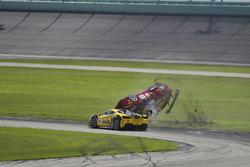 Unfall: #124 Ferrari of Long Island Ferrari 488 Challenge: Jerome Jacalone