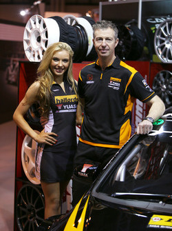 Matt Neal with a lovely girl