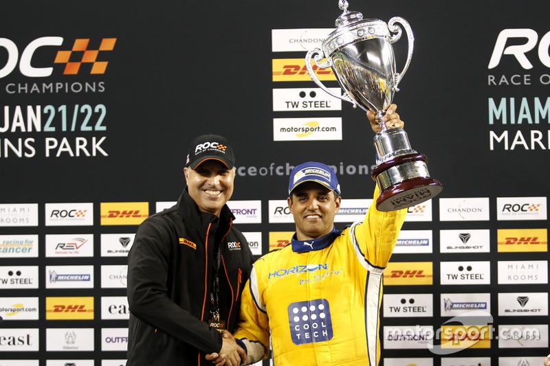 Podio: Ganador Juan Pablo Montoya