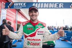 Winner Norbert Michelisz, Honda Racing Team JAS