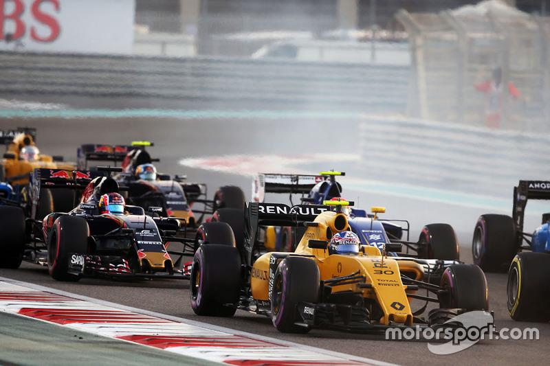 Jolyon Palmer, Renault Sport F1 Team RS16 al inicio