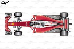 Ferrari SF16-H top view