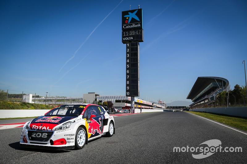 Auto von Sebastien Loeb, Team Peugeot-Hansen, Peugeot 208 WRX