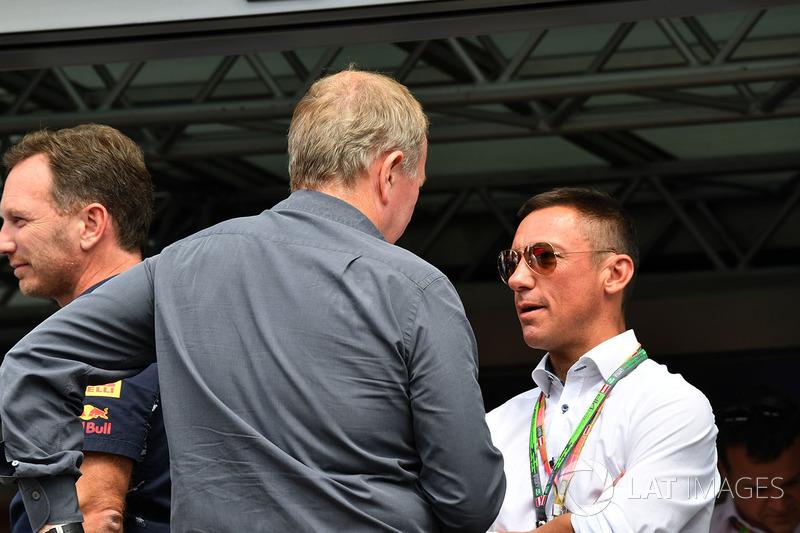 Frankie Dettori, Martin Brundle, Sky TV