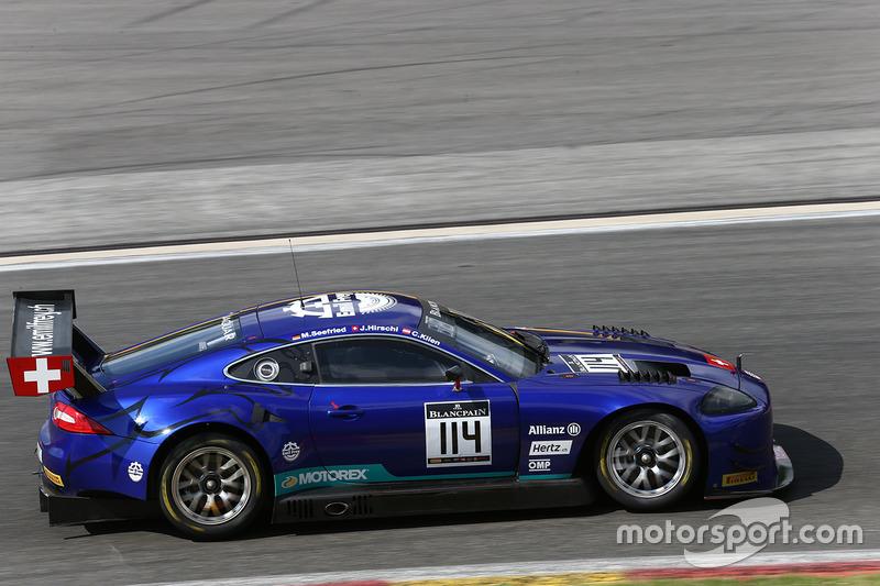 #114 Emil Frey Racing Jaguar G3: Jonathan Hirschi, Christian Klien, Marco Seefried