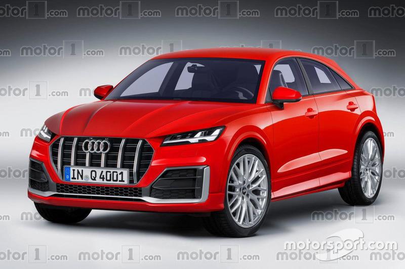 Audi Q4 render