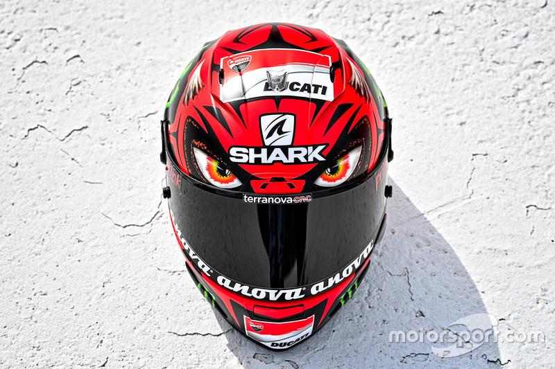 Jorge Lorenzo, Ducati Team special helmet