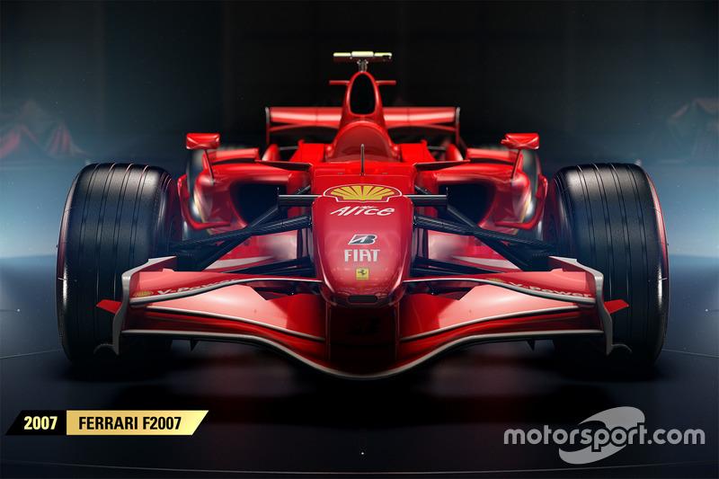 Ferrari F2007, F1 2017