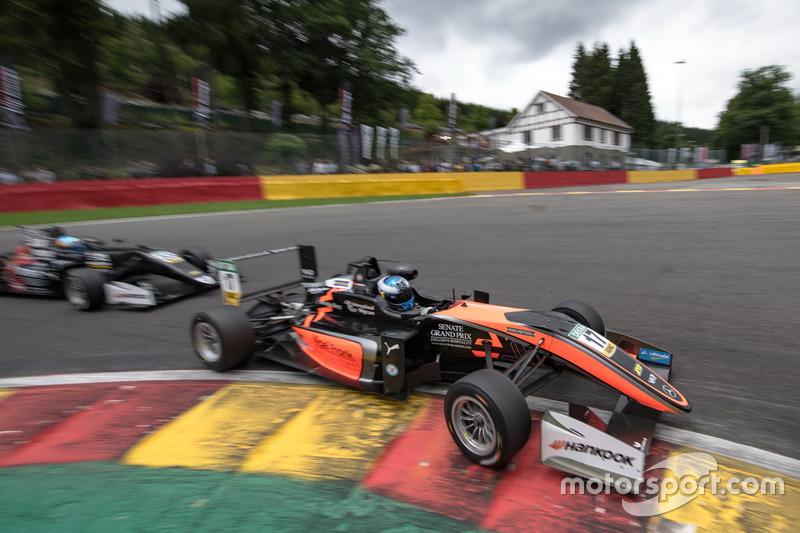 Харрісон Ньюі, Van Amersfoort Racing Dallara F317 - Mercedes-Benz