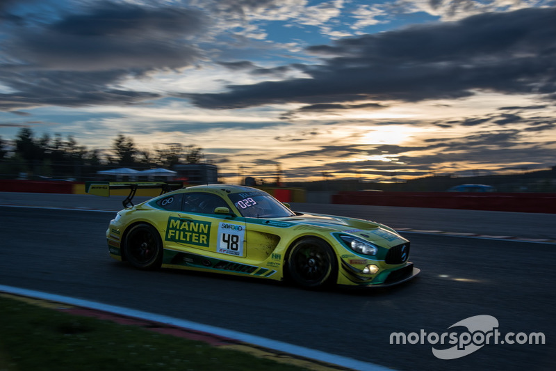 #48 MANN-FILTER Team HTP Motorsport Mercedes-AMG GT3: Kenneth Heyer, Indy Dontje, Patrick Assenheimer