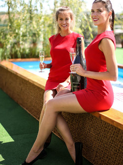 Chicas Carbon champagne