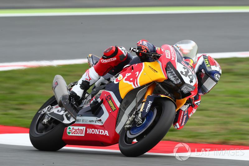 Davide Giugliano, Honda