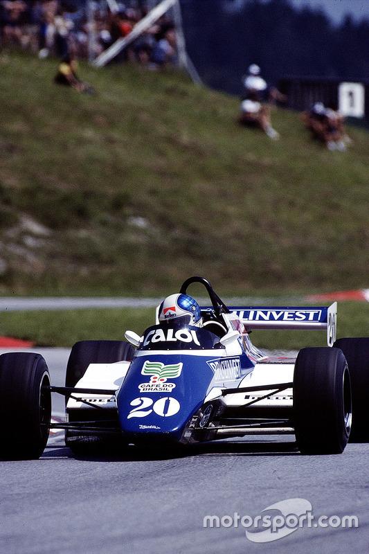 Chico Serra, Fittipaldi F9 Ford