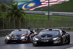 #5 FFF Racing Team Lamborghini Huracan GT3: Armaan Ebrahim, Jack Bartholomew