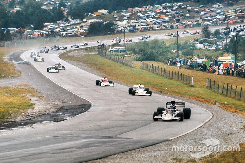 Ронни Петерсон, Lotus 72E Ford, Джоди Шектер, McLaren M23 Ford, Ники Лауда, BRM P160E