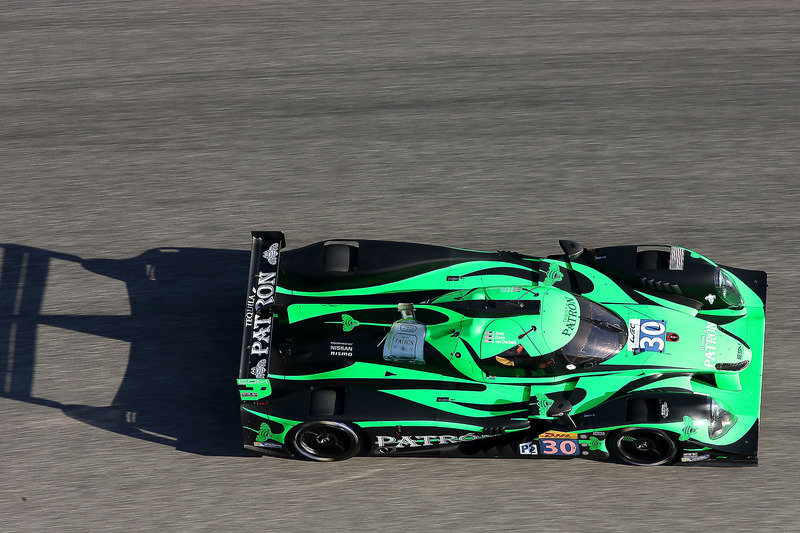 Art Fleischmann#30 Extreme Speed Motorsports Ligier JS P2 - Nissan: Scott Sharp, Ed Brown, Johannes van Overbeek