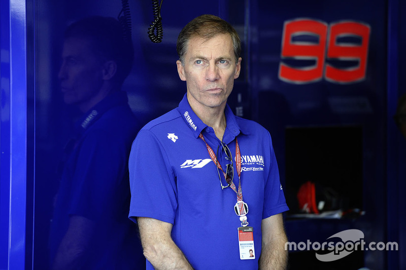 Lin Jarvis, Managing Director Yamaha Factory Racing