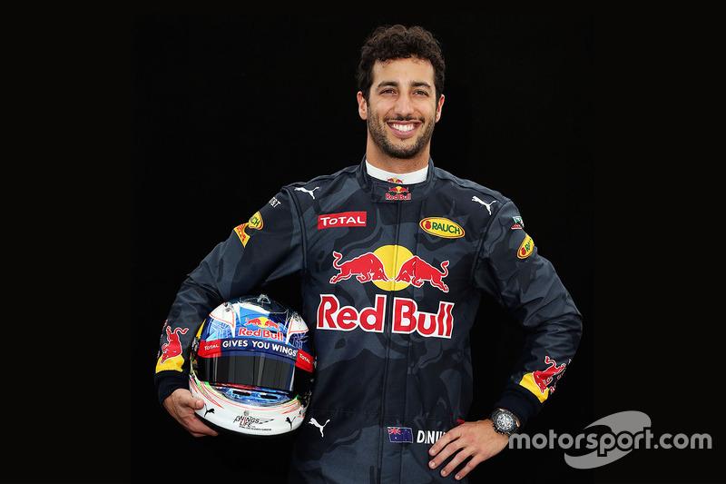 Daniel Ricciardo, Red Bull (martes)