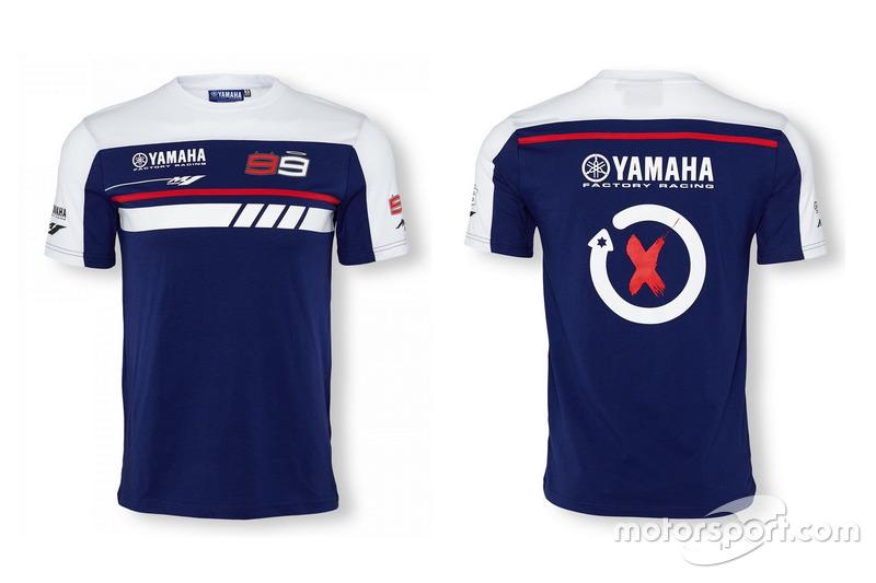 T-shirt Yamaha - Jorge Lorenzo 2016