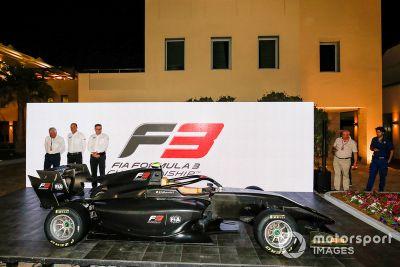 Novo carro da FIA F3