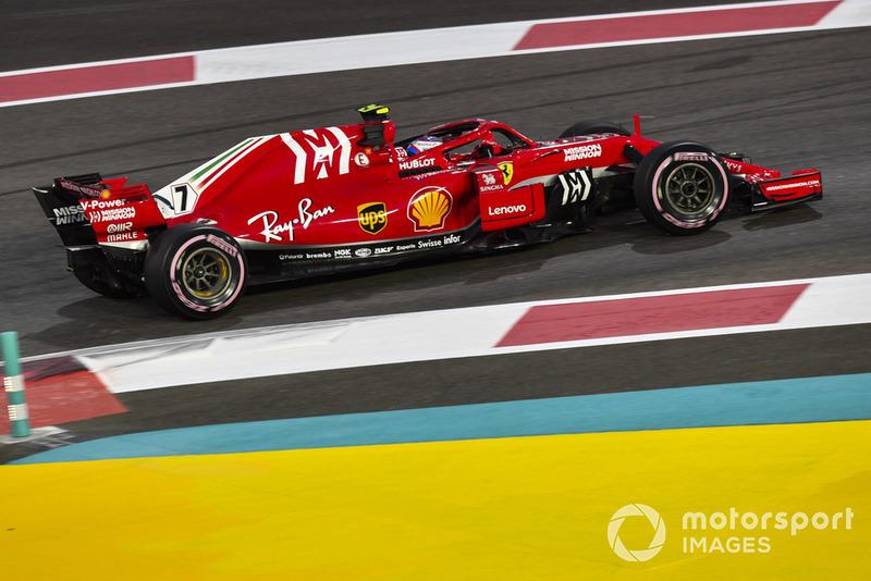 7, Kimi Raikkonen, Ferrari (57 poin)