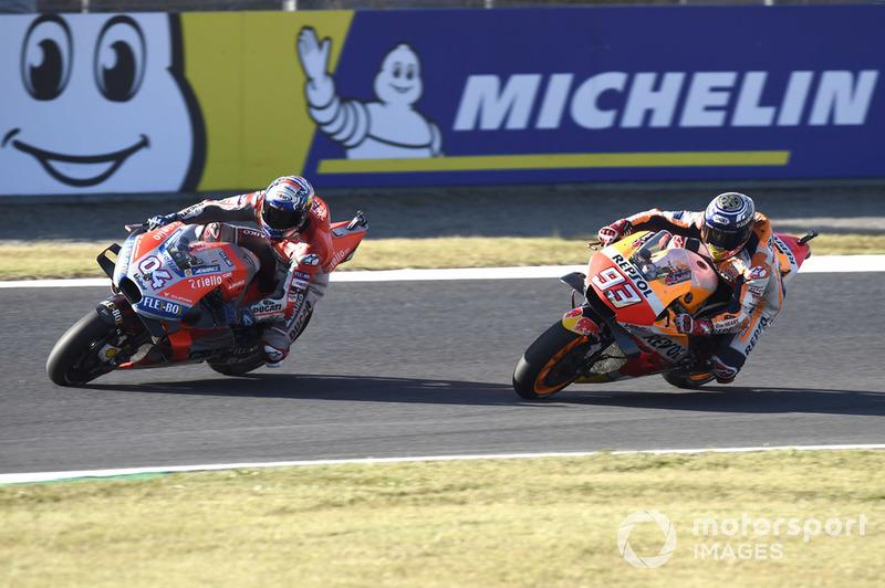 Марк Маркес, Repsol Honda Team, Андреа Довіціозо, Ducati Team