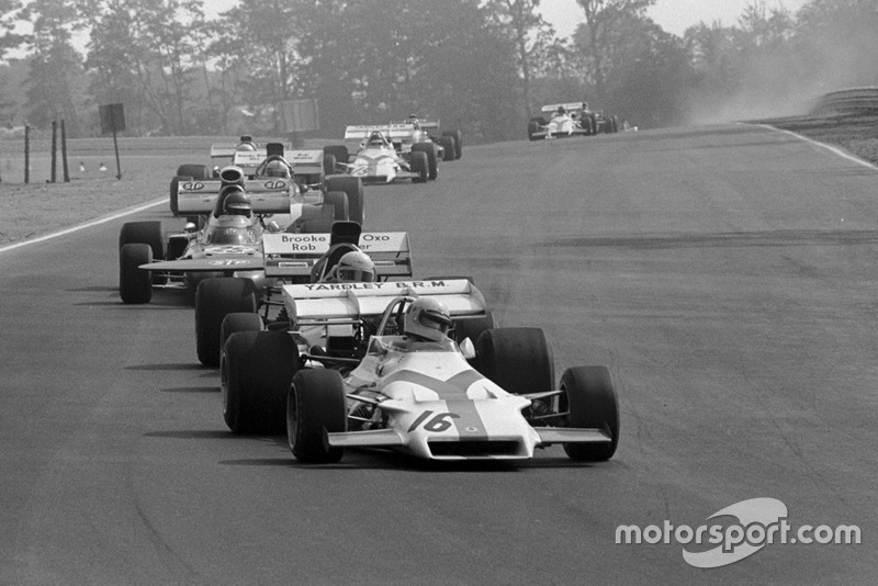 Хоуден Генлі, BRM P160, Майк Хейлвуд, Surtees TS9 та Ронні Петерсон, March 711