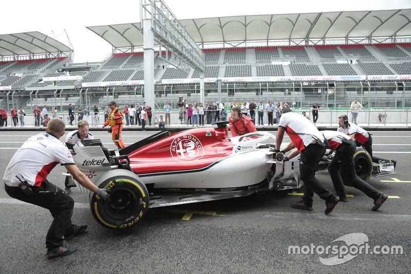 Test de Tatiana Calderón después del Gran Premio de México