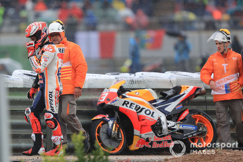 Марк Маркес, Repsol Honda Team, після аварії
