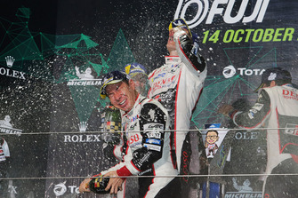 Podium LMP1: winner Kamui Kobayashi, Toyota Gazoo Racing