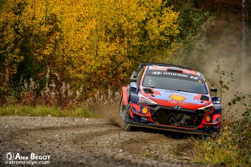 Rally Finland tests