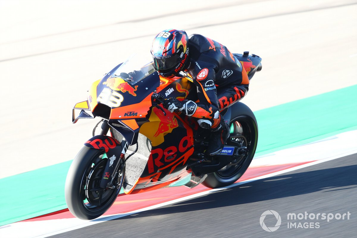 P13 Brad Binder, Red Bull KTM Factory Racing