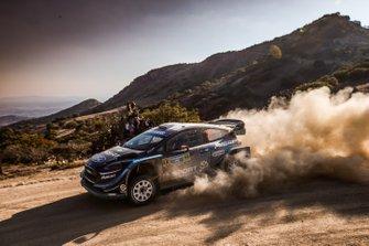 Elfyn Evans, Scott Martin, M-Sport Ford, Ford Fiesta WRC