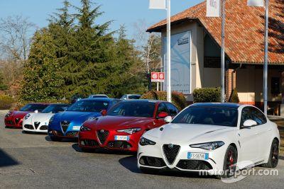 Presentación del equipo Alfa Romeo Racing