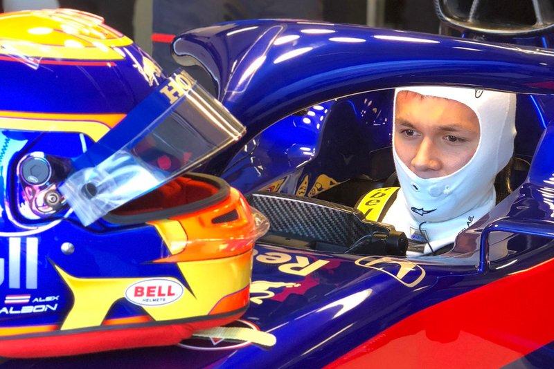 Александер Албон, Toro Rosso STR14 Honda