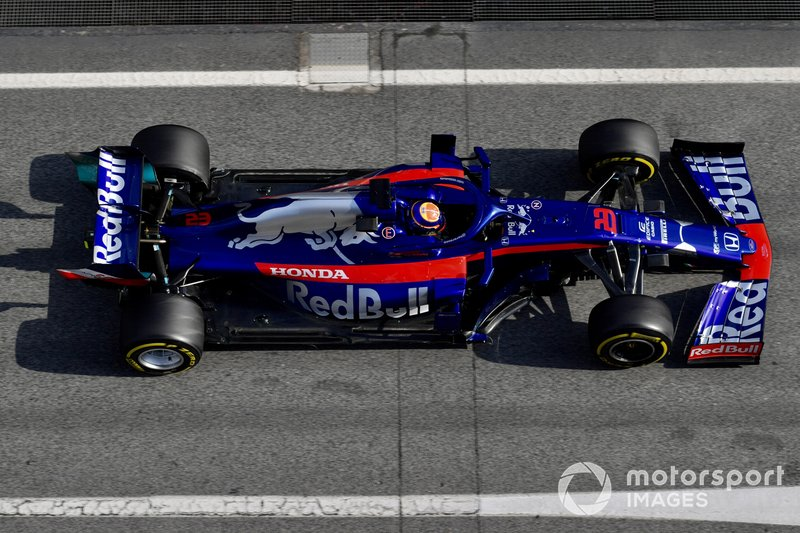 Алекс Албон, Scuderia Toro Rosso STR14