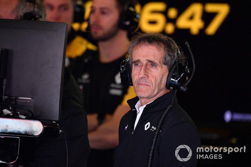 Alain Prost, consejero de Renault Sport F1 Team