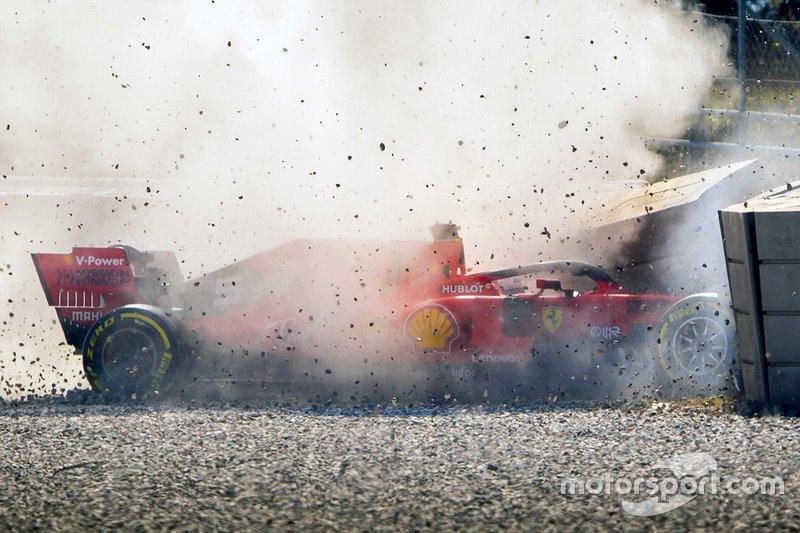 L'incidente di Sebastian Vettel, Ferrari
