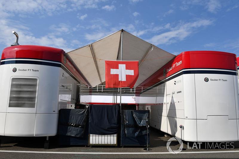 Sauber celebra el día nacional de Suiza