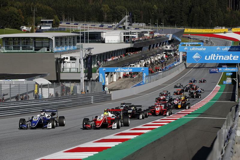 Robert Shwartzman, PREMA Theodore Racing Dallara F317 - Mercedes-Benz, Mick Schumacher, PREMA Theodore Racing Dallara F317 - Mercedes-Benz