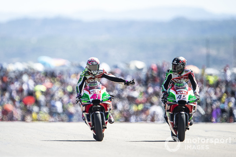 Aleix Espargaro, Aprilia Racing Team Gresini, Scott Redding, Aprilia Racing Team Gresini