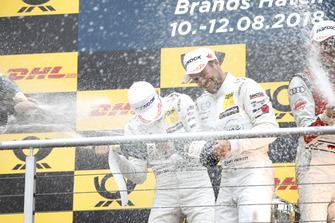 Podium: Paul Di Resta, Mercedes-AMG Team HWA and Gary Paffett, Mercedes-AMG Team HWA
