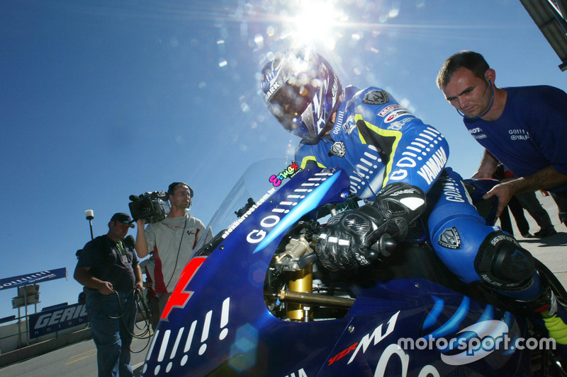 Alex Barros, Gauloises Yamaha Team